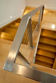 Stainless Steel Banisters Best 25 Stainless Steel Handrail Ideas On Pinterest Stainless