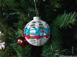 crochet ornaments u0026 cluster pattern 627handworks