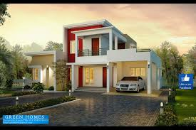 home construction design green homes contemporary model house in 2100 sq feet