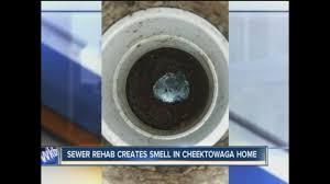 homeowners complain of odor from sewer work wkbw com buffalo ny