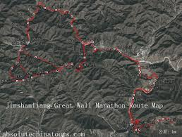 Map Of The Great Wall Of China by Jinshanling Great Wall Marathon 2014 5 6 Register Map Calendar