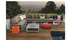 Sectional Table Casbah Modular Outdoor Sectional Sofa Cb2