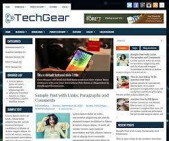techgear blogger template newbloggerthemes com