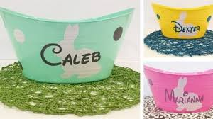 personalized easter basket liners great personalized easter baskets archives design chic design chic