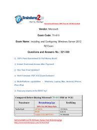 braindump2go latest 70 410 exam dumps pdf free download 321 330