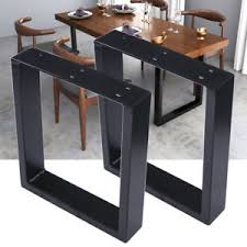 heavy duty table legs 2x heavy duty steel box shape dining desk table legs 40cm height