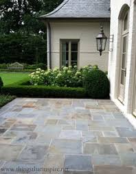 Ideas For Backyard Patios by Easy Diy Patio Ideas Boxwood Hedge Stone Patios And Hydrangea