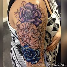 25 meaningful sugar skull tattoos you ll want to get immediately