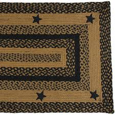 amazon com ihf home decor country style braided area rug