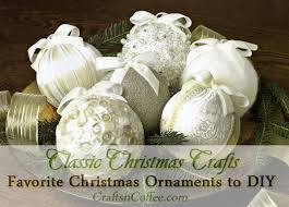 handmade christmas ornaments diy a glittering christmas ornament