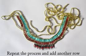 fashion necklace making images A matter of style diy fashion tribal egyptian necklace diy jpg