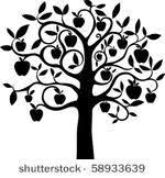 tree designs vector graphics freevector com