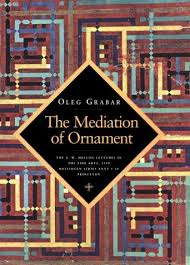 the mediation of ornament oleg grabar 9780691001562