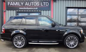land rover sport 2012 second hand land rover range rover sport 3 0 sdv6 hse 5dr auto for