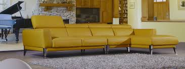 Yellow Sleeper Sofa Furniture L Shaped Electric Blue Leather Sleeper Sofa With Left