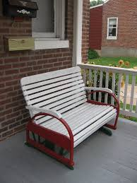 Antique Metal Porch Glider Furniture Divine Image Of Furniture For Outdoor Living Space