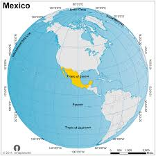 mexico on map mexico globe map globe map of mexico