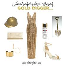 digger halloween costume gold digger costume