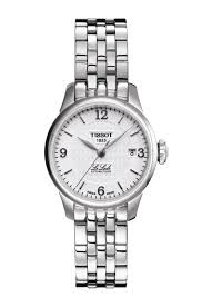 tissot ladies bracelet watches images Tissot le locle automatic lady t41118334 png