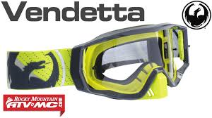 smith motocross goggles dragon vendetta goggle video overview youtube
