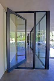 Accent Door Colors by Fleetwood Pivot Door But Reeded Glass For Privacy The Orange