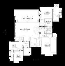 mascord house plan 1242a the caprica
