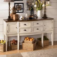 make your own buffet table endless ways to use and decorate this server to make it your own