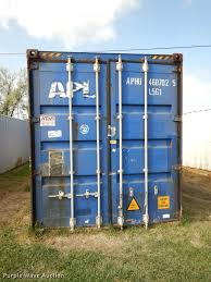 2004 apl conex storage container item dd0768 wednesday o