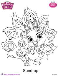 disney u0027s princess palace pets free coloring pages printables