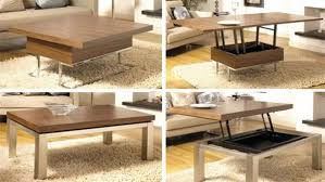 fold out coffee dining table amazing space saving coffee tables that convert into a dining table