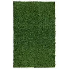 Indoor Outdoor Runner Rugs Amazon Com Ottomanson Garden Grass Collection Indoor Outdoor