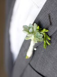 succulent boutonniere diy succulent boutonnieres the sweetest occasion