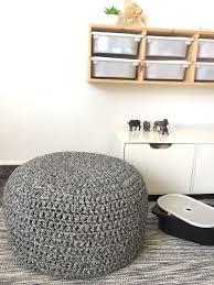 pouf chambre enfant pouf géant tricot et marocain éléments déco salon ou chambre
