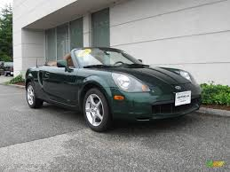 toyota roadster 2001 electric green metallic toyota mr2 spyder roadster 13753040