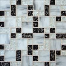 crackle glass tile various sized crackled glossy glass and