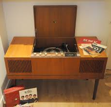 Antique Record Player Cabinet Vintage Radiogram Hmv 1965 Antiques Cabinet Vintage Record