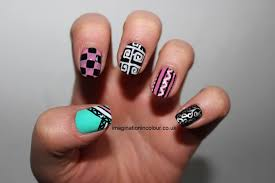 black nail art pen designs how you can do it at home pictures