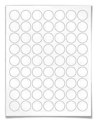 1 Inch Circle Template by 1 Inch Labels Clear Color Circular Labels For Laser And