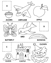 matching alphabet coloring pages printable alphabet coloring