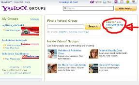 membuat group di yahoo mail internet berbagi ilmu
