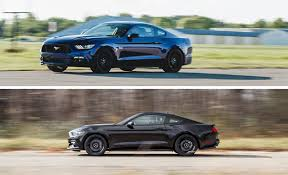car and driver mustang vs camaro 2015 ford mustang gt manual and mustang ecoboost manual