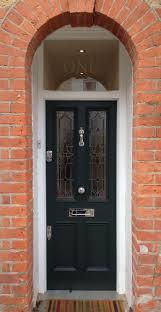 front door leaded glass a pleasant victorian front door with leaded light in farrow