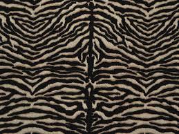 zebra animal print designer fabric linen look upholstery curtain