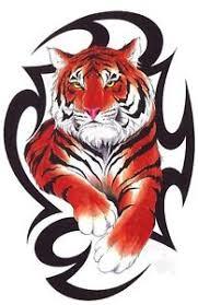 tribal tiger design t shirt mens s m l xl 2xl