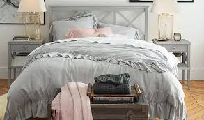 ruffle collection duvet cover pottery barn kids with regard to