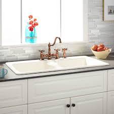 drop in farmhouse kitchen sink stunning drop in farmhouse kitchen sinks with sink ideas also