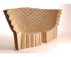 How To Make A Cardboard Chair 16 Clever Cardboard Chairs Cardboard Chair Bench And Bar