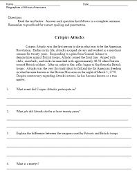 black history month workbook sample