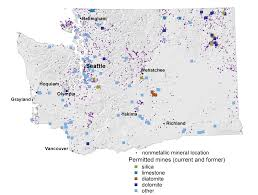 Map Of Washington State Cities by Coal Metallic And Mineral Resources Wa Dnr
