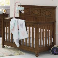 Bassett Bedroom Furniture Bassett Furniture Brookdale Convertible Crib Rustic Brownstone